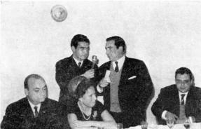 D. Antonio García de Tejada y Gayango EA7JQ, a su regreso de la expedición a Sidi Ifni.