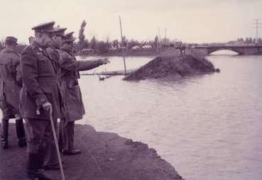 Inundación Sevilla del río Tamarguillo 1961